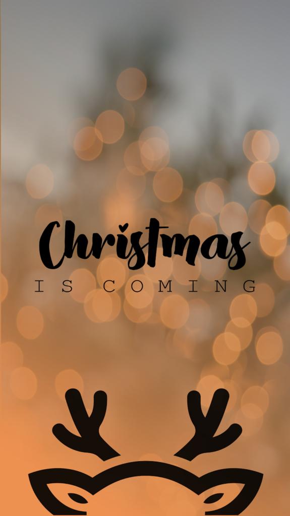 Fond d'écran christmas is coming