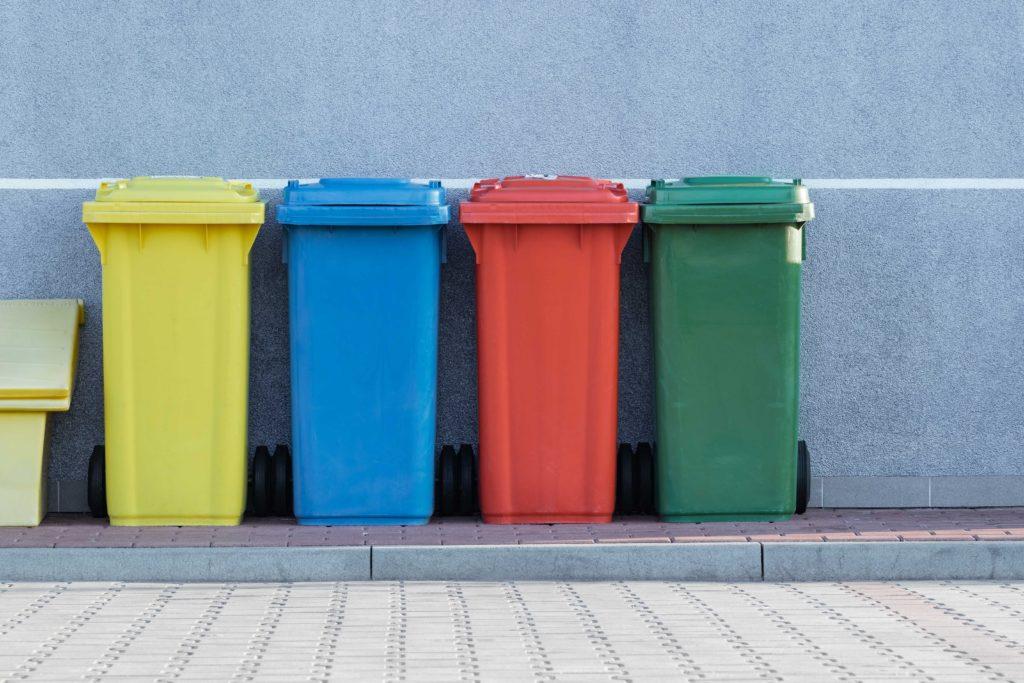 jeter déchets