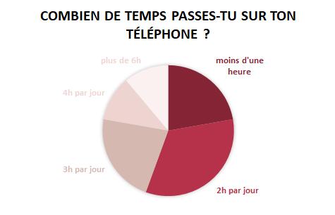 sondage journée sans portable