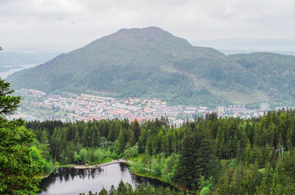 vue sur Bergen