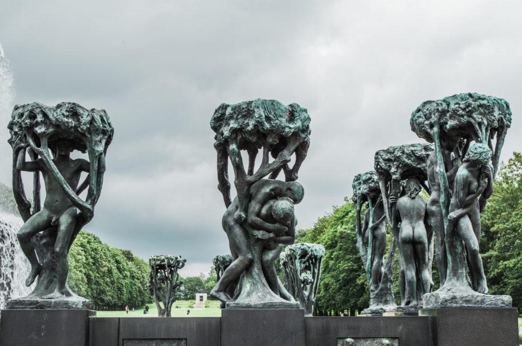 sculptures vigeland Oslo