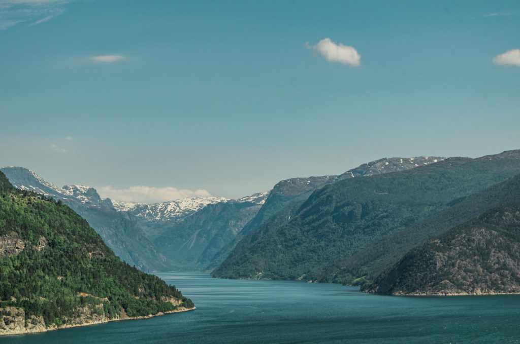 fjors de Norvège
