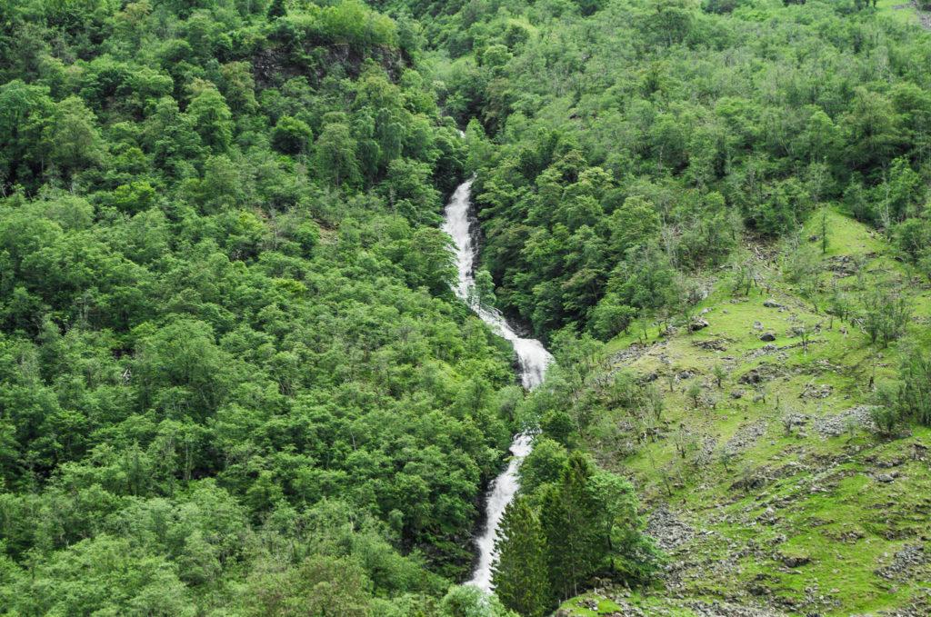 cascade fjord Norvège