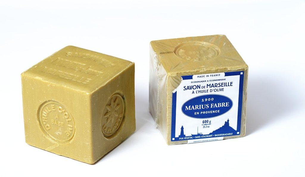 utiliser le savon de Marseille