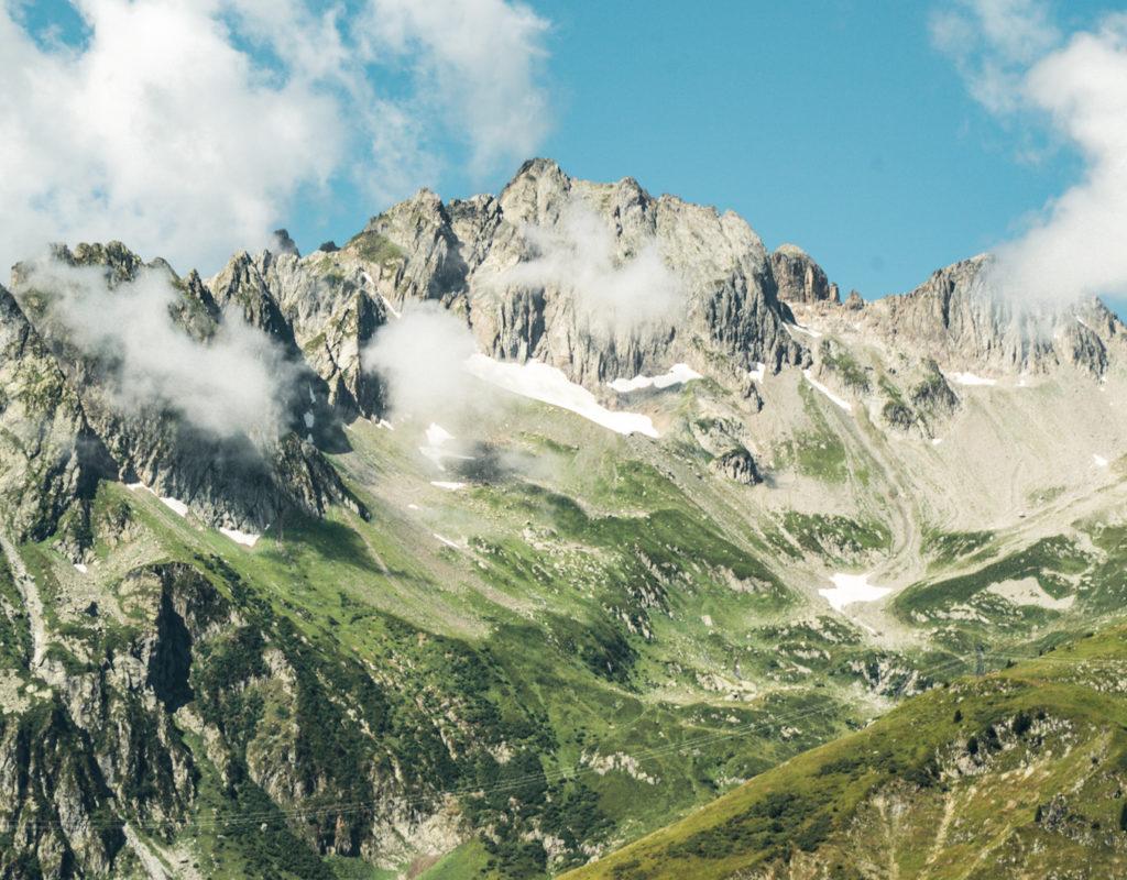 montagnes Alpes
